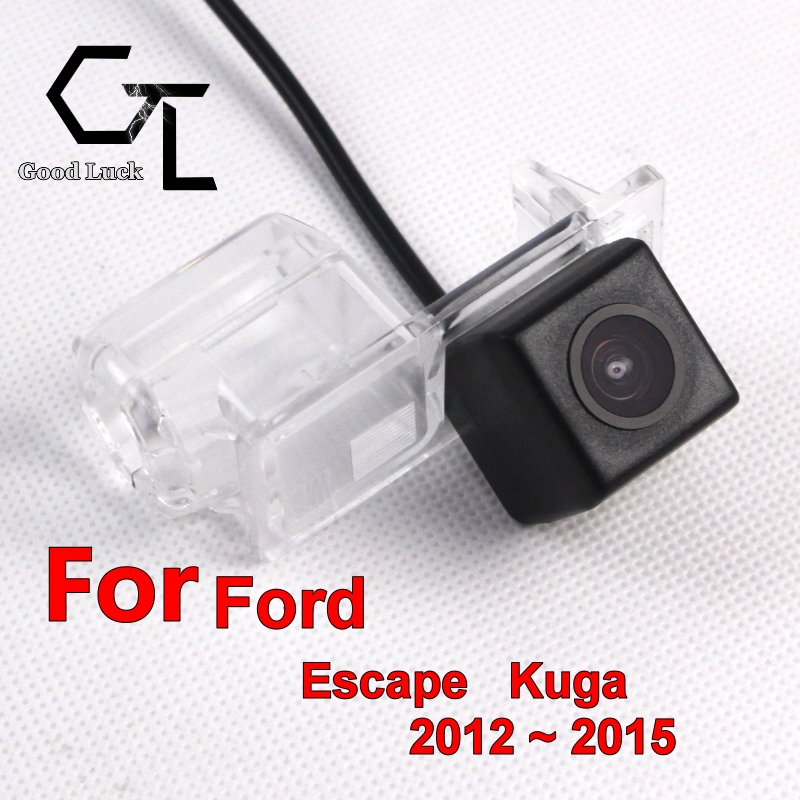 For Ford Escape Kuga 2012 ~ 2015 wireless Car Rear View camera Waterproof Reverse Backup HD CCD Night Vision Wide Angle(China (Mainland))