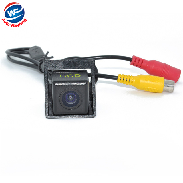 Factory Selling HD CCD Car rearview camera Car rear view camera for Ssangyong new Actyon Korando waterproof night version(China (Mainland))