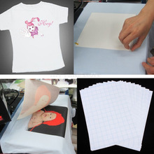 Details about  10 Sheets A4 Iron On Inkjet Print Heat Transfer Paper For Fabric T-Shirt (China (Mainland))