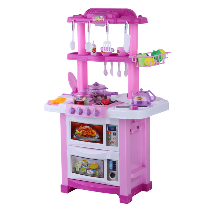 Popular cooking play set buy cheap cooking play set lots for Kitchen set for 8 year old