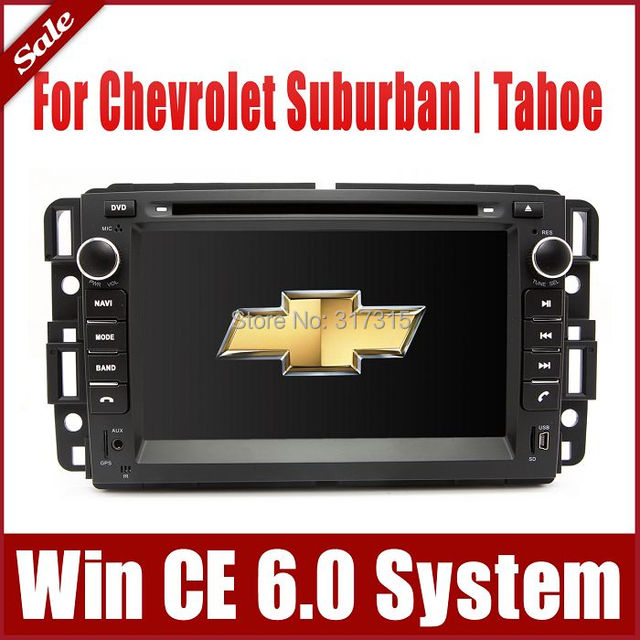 "7"" 2-Din Car DVD Player for Chevrolet / Chevy Suburban/ Tahoe w/ GPS Navigation Rdio Bluetooth  TV USB SD AUX Auto Video Sat Nav"