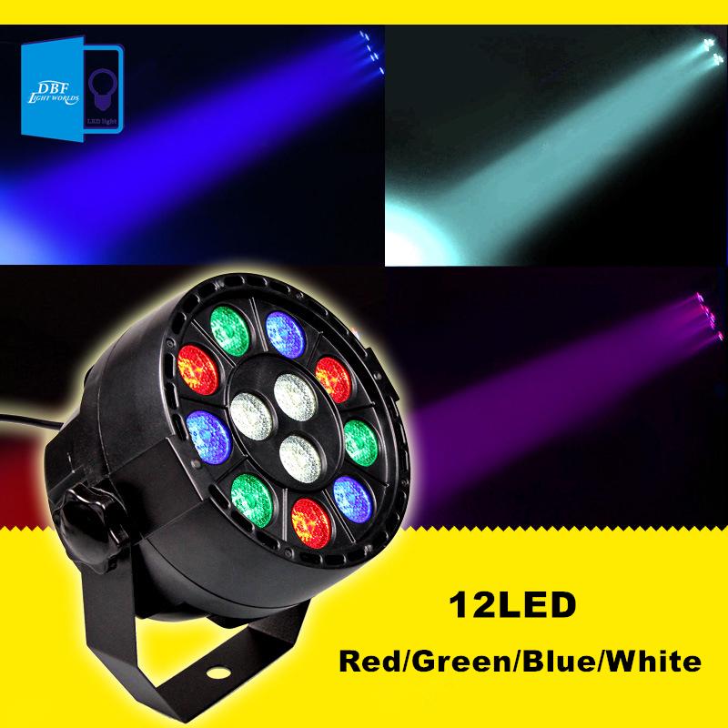[DBF]Professional DMX512 Disco Lamp stage light 12LEDs Par light luces discoteca laser projector dmx Controller for DJ Party KTV(China (Mainland))