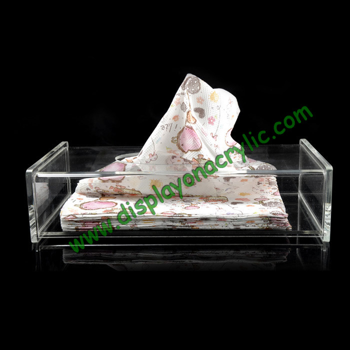 Rectangle Clear Lucite Facial Napkin Holders, Acrylic Tissue Boxes For Sheet Paper<br><br>Aliexpress