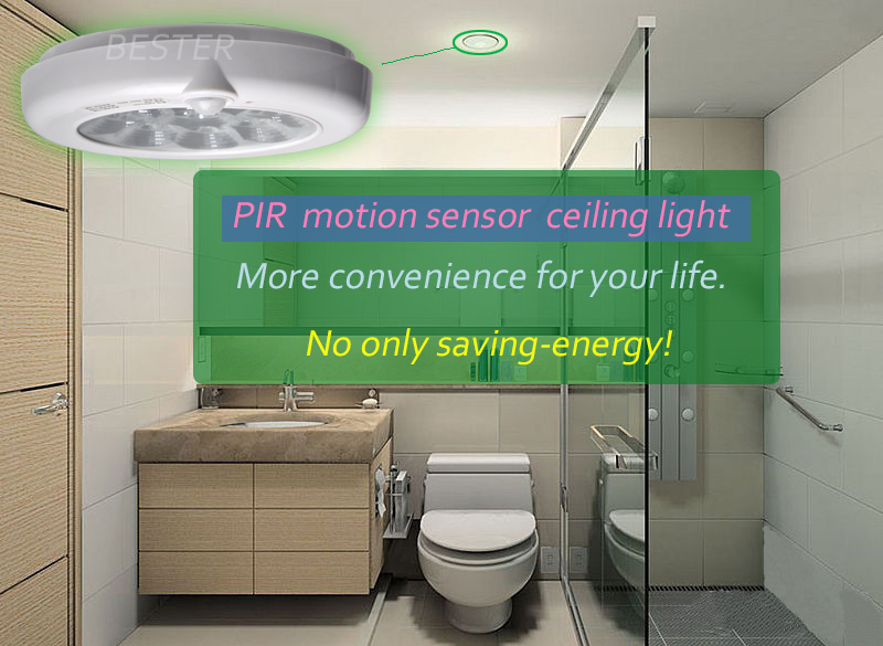 5W 7W 11W PIR Motion Sensor LED ceiling lights surface mounted ...