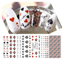 SEE DETAIL 3 pieces HOT187-188-189 water decal nail  water transfer ANIMALS nail sticker stamping  nail art stamp EXPORT JAPAN