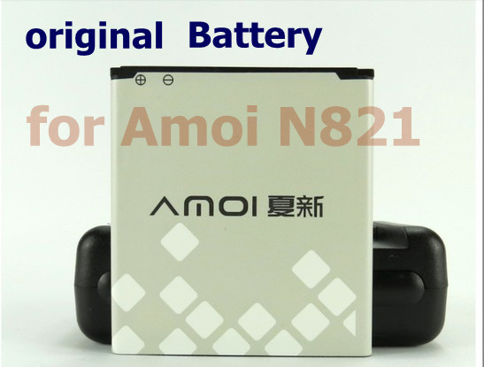 Free shipping, New Original Amoi Battery for Amoi N821 Cell Phone
