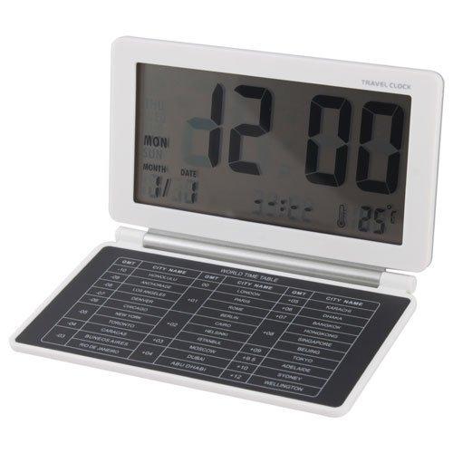 wholesale Digital Travel Alarm Clock World Time wit
