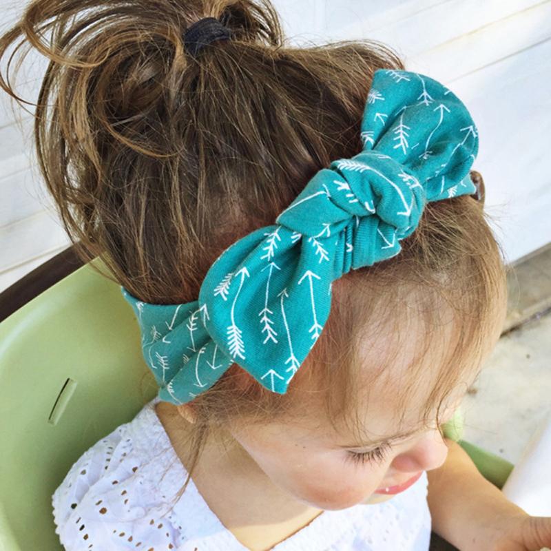 2016 Brand New Cute Kids Hair Accessoreis,Europe and America Style Vintage Printed Summer Cloth Headband,Fashion Headwear DYY626(China (Mainland))