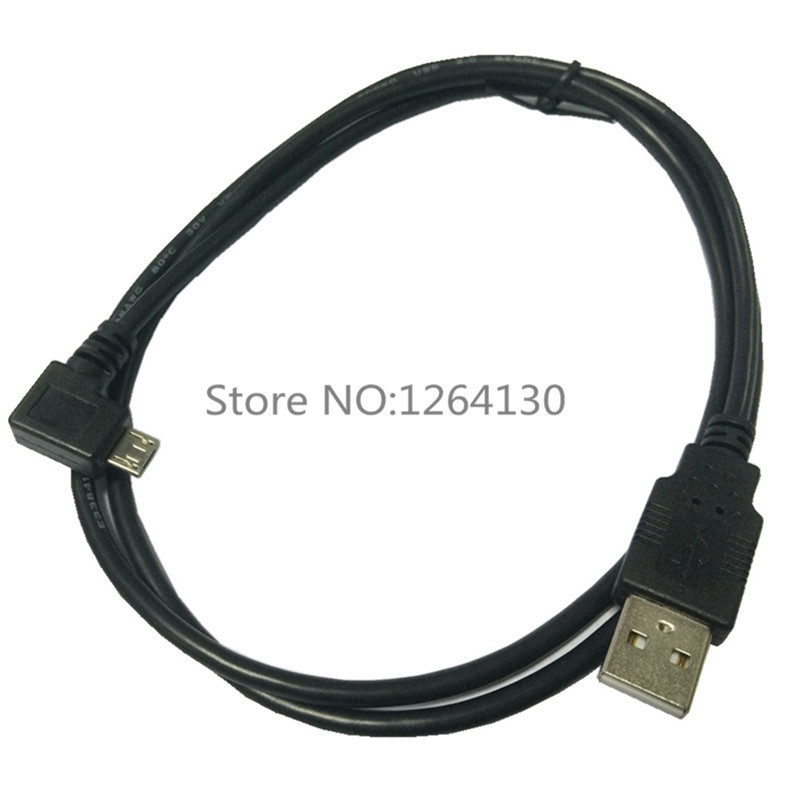1M Left Angled 90 Degree Micro USB Male to USB Data Charge Cable for Samsung S3 S4 Android phones Free shipping(China (Mainland))