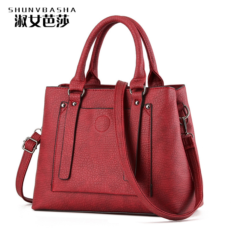 Famous brand Designer Dress Bags Soft Pu Leather Material Tote Bag Open Packet New Design Hangbags High Quality Ladies Bags(China (Mainland))