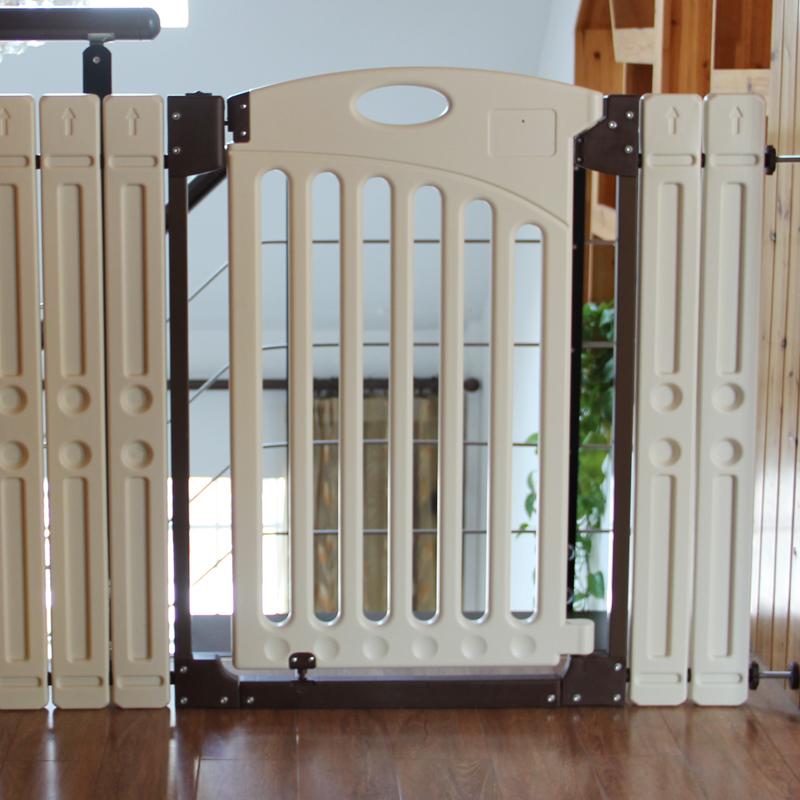 Escaleras de madera cubierta compra lotes baratos de - Puerta escalera ninos ...