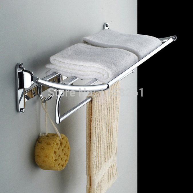 Zinc and Stainless Steel Towel Rack / Bathroom Accessories Bathroom Fitting Towel Horse WF-1162(China (Mainland))