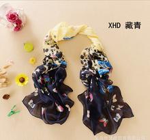 2015 new fashion style butterfly Scarves women s scarf long shawl spring silk pashmina chiffon beach