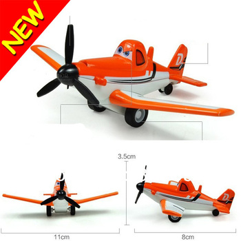 New Funny Novelty Cartoon Dusty Planes Aircraft Model Toys Diecasts Vehicles Snap Fit