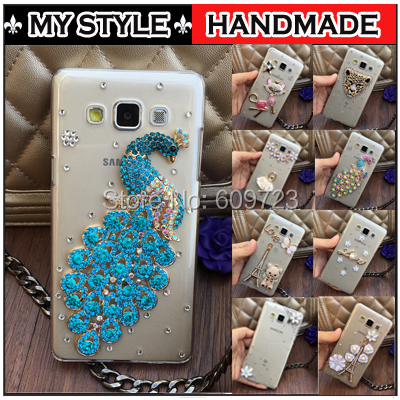 For ZTE Blade Qlux 4G / Blade Q Lux 4G / A430 Luxury Bling Rhinestone Diamond Hard Case cover phone cases Free shipping 22 Style(China (Mainland))