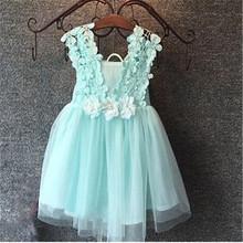 Girls dress cartoon puppy dog love heart-shaped dress baby dress Kids clothing dress free shipping