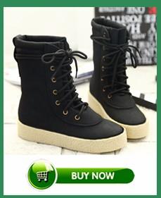 Botas femininas botas de mujer 2015 nueva llegada de las mujeres botas de invierno botas de nieve caliente zapatos de plataforma de la moda de las mujeres de moda botines