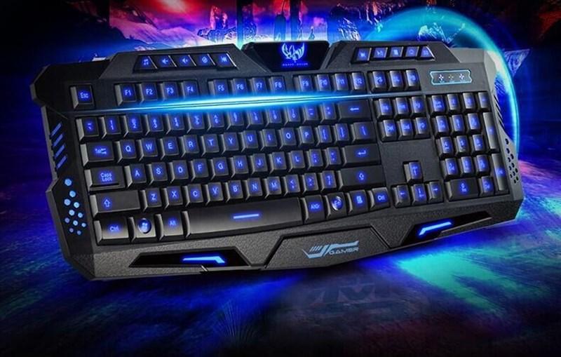 backlight advanced 3 color usb wired mechanical keyboard for computer. Black Bedroom Furniture Sets. Home Design Ideas