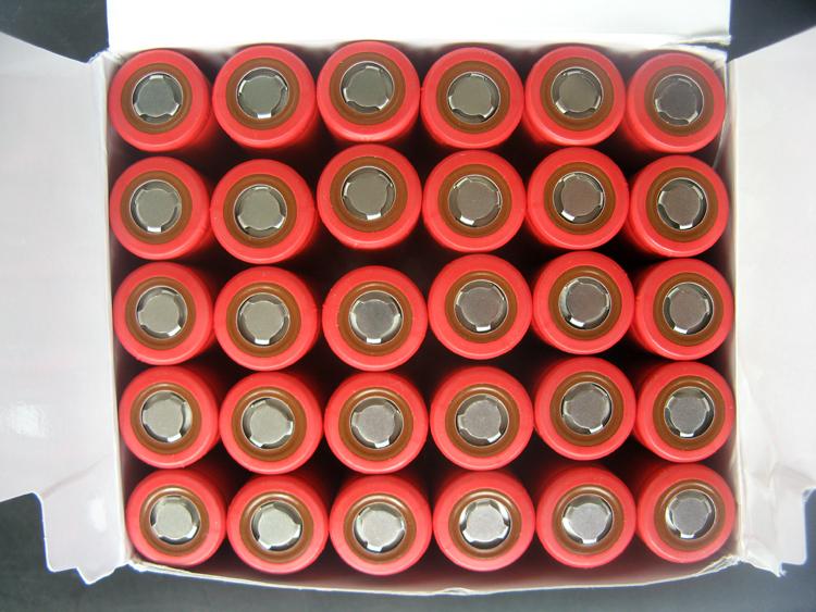 2pcs/lot high capacity Original sanyo 18650 battery 3400mAh NCR18650BF Li-ion 3.6v rechargeable Battery+Free Shipping(China (Mainland))