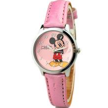 Relojes Mujer 2015 nuevos niños de la historieta del ratón del cuarzo mira los Relojes de los niños moda Casual sport relogio feminino
