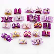 Armi store 10 Pcs Handmade Dog Bow Grooming Bows For Puppy Dogs Accessories Boutique Products 6020001 Color Party(China (Mainland))