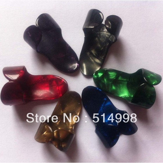 Celluloid Finger Picks Standard Sizeuitar Guitar Finger Picks (directly from factory ) Hot sell !(China (Mainland))