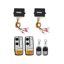 2 Wireless Winch Remote Control Kit 12V 50 feet for Jeep Truck SUV ATV(China (Mainland))