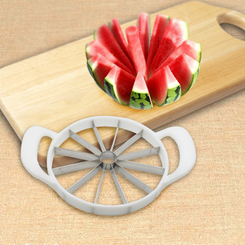 Kitchen Pratical Tools Creative Watermelon Slicer Fruit Cutter utensilios de cozinha Cantaloupe Knife cortador de melancia(China (Mainland))