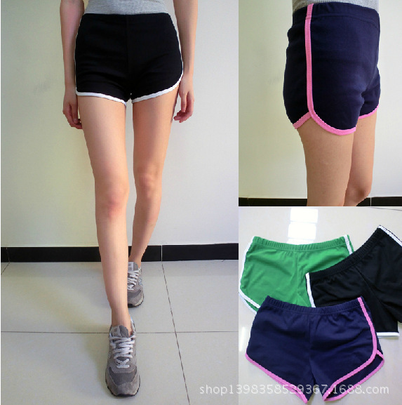 2015 Spot A Generation Of Fat American Apparel Trade European And American Women's Cotton Tennis Shorts Free Shipping(China (Mainland))