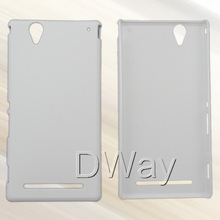 PC Hard DIY 3D Sublimation Blank Cover Case For Sony Xperia T2 Ultra Cell Phone Case 100PCS/LOT(China (Mainland))