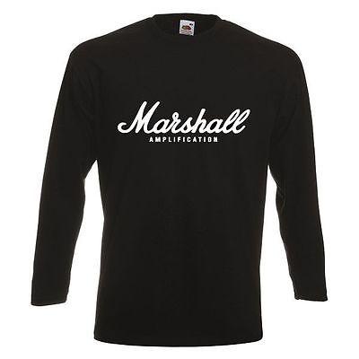 MARSHALL LOGO Long Sleeve New T-shirt Rock Band Shirt Long Sleeve Tee(China (Mainland))