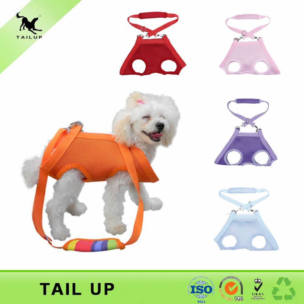 pet carrier bag mesh cloth dog harness vest with leash(China (Mainland))