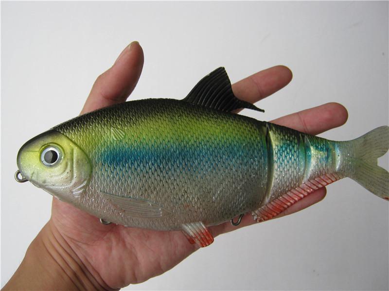 Super Large Swing Toys Bionic Domino Lure Fake Fish