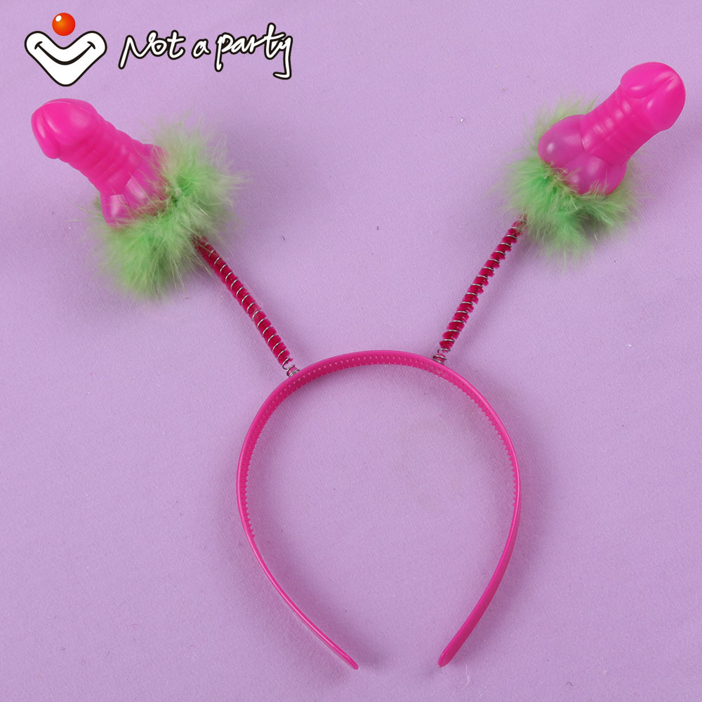 30% off for 5pcs Sex products Willy headband Penis birthday fun party hen night Bachelorette Party hair accessories supplies(China (Mainland))