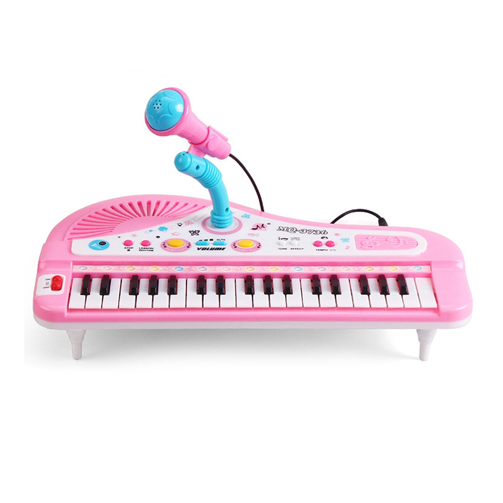 37-Key Multi-function Electronic Organ Keyboard Piano with Microphone Kids Children Educational Toy(China (Mainland))
