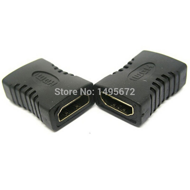 HDMI Female to Female F F HDTV HDMI Cable Extension Adapter Converter Connector Save up to 50% for hdmi adapter convertidor HDMI(China (Mainland))