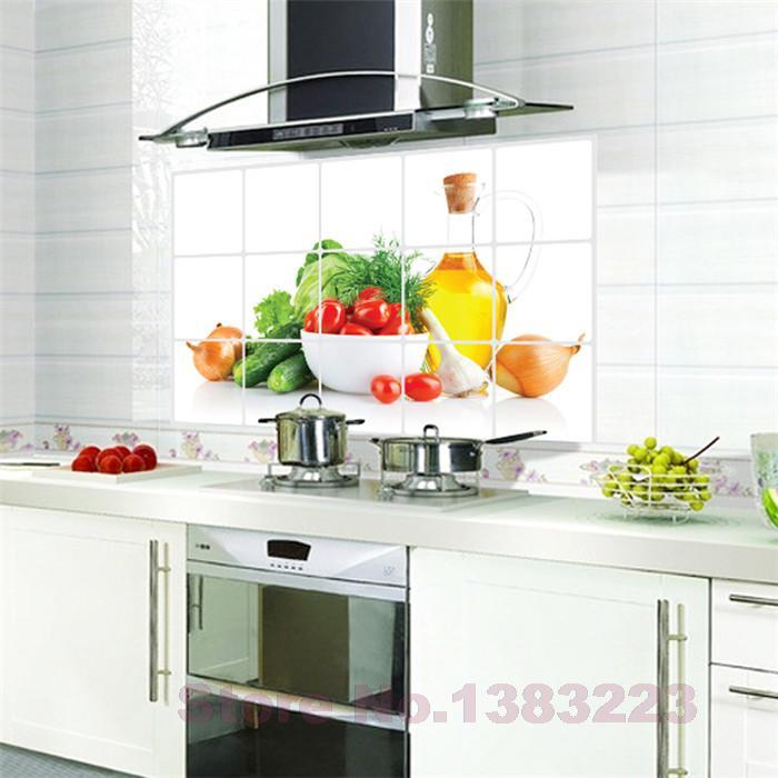 Kitchen Decor Vegetables: Aliexpress.com : Buy DIY Fruits And Vegetables Kitchen