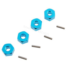 Buy 4pcs/lot 102042 Wheel Hex Nut 12MM Pins HSP 1/10 Upgrade Parts Himoto 33009 1/10 RC Model Cars Baja Redcat Exceed for $2.07 in AliExpress store