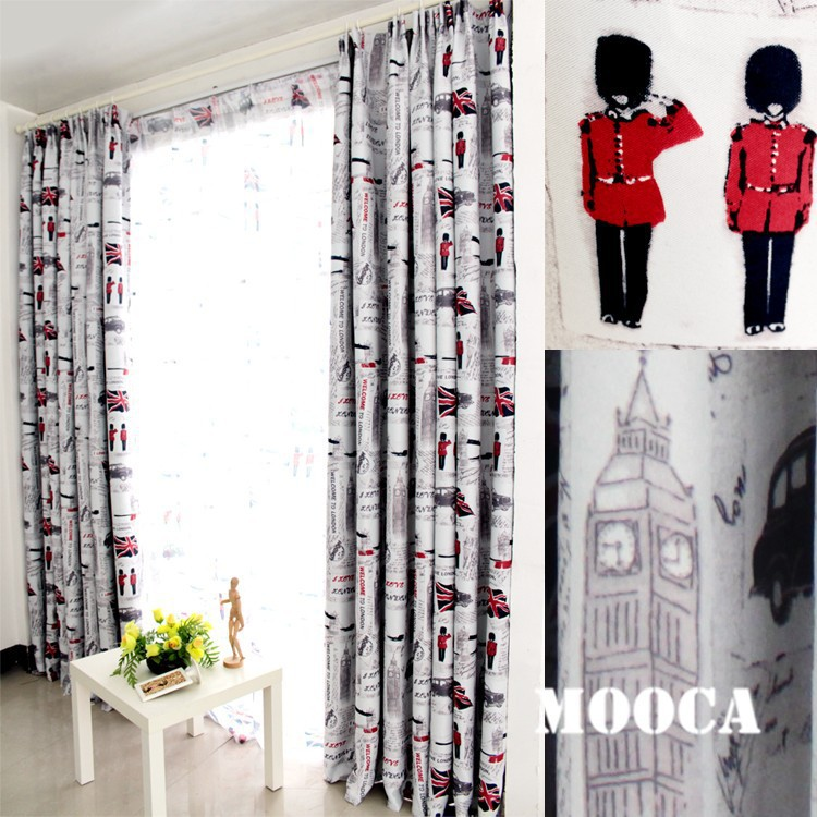 curtains for the living room window curtain for kids boys room ...