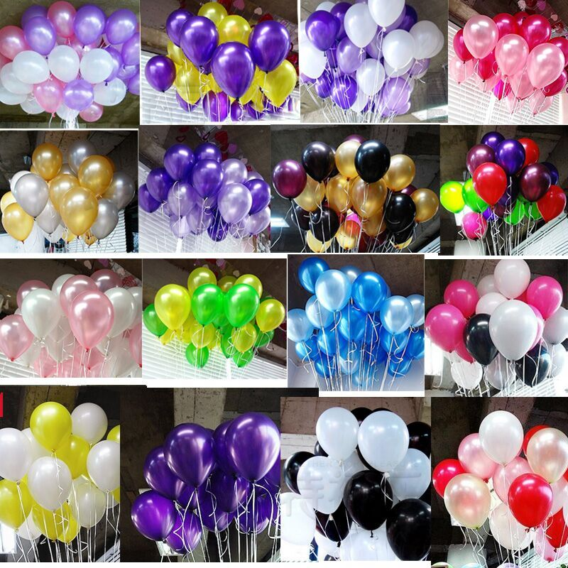 20pcs/lot 10 inch1.2g Latex balloon Helium Round balloons 16colors Thick Pearl balloons Wedding Party Birthday Balloons(China (Mainland))