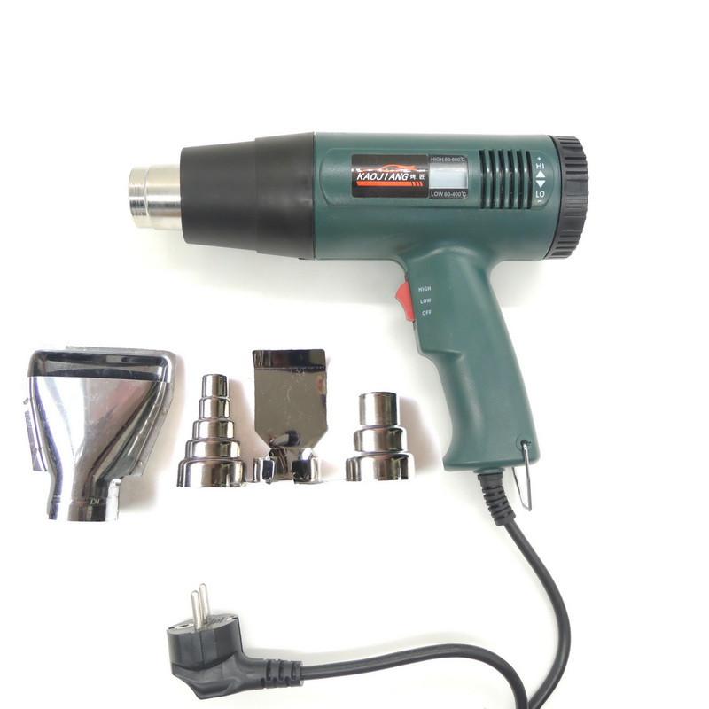 1800 Watt 220V EU Plug Industrial Electric Hot Air Gun Thermoregulator Heat Gun Heatguns Shrink Wrap Digital thermostat LCD DIY(China (Mainland))