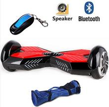 8 inch electric scooter Bluetooth music scooter with LED Light Remote key Adult Motorized 2 Wheels Electric Standing Scooter