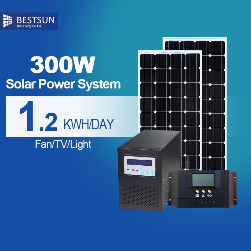 BFS-300W-S solar energy system off grid solar system for home sale solar photovoltaic panels solar products solnechnaya sistema(China (Mainland))