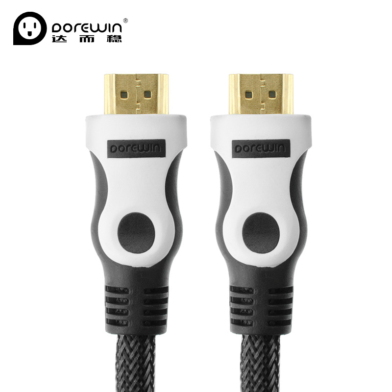 Dorewin High Speed 1080P 4K HDMI Cable V1.4 3D HDMI to HDMI Cable Male to Male HDMI Cable Gold Plated 1M/1.5M/3M/5M/10M/15M(China (Mainland))