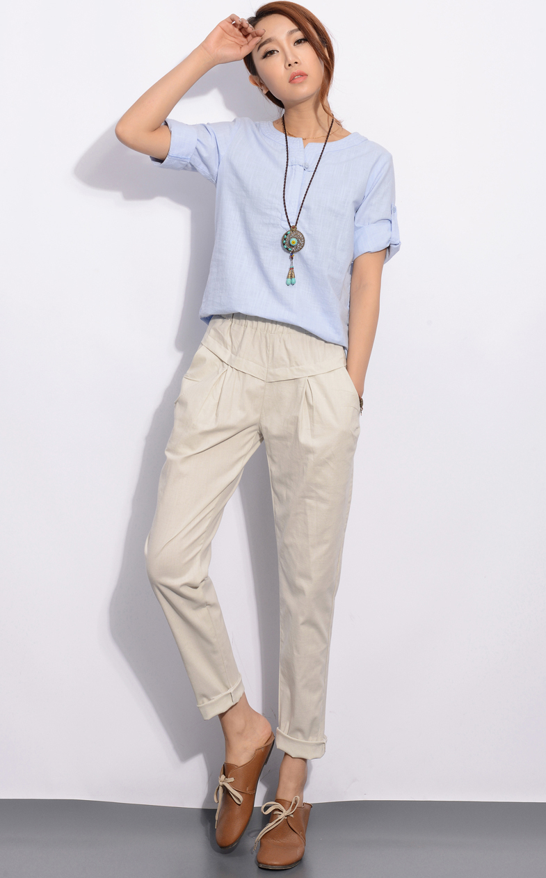 Linen Pants Women Outfit With Original Photos In Singapore