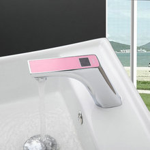 Buy Modern Sensor Faucets Torneira New Digital Display Bathroom Automatic Sensor Basin Chrome 89020 Sink Faucets,Mixers Taps for $95.15 in AliExpress store