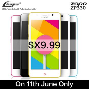 """Оригинал ZOPO цвет C ZP330 4.5 """" MTK6735 64 бит четырехъядерных процессоров 4 г LTE мобильный телефон андроид 5.1 8 ГБ ROM 5-мп камерой OTG двойной SIM"""