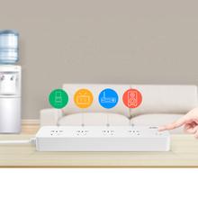 Broadlink Latest Smart Power Socket plug,Broadlink MP1 WiFi Remote control 4 outlet Smart socket for Smart home,Smart Automation