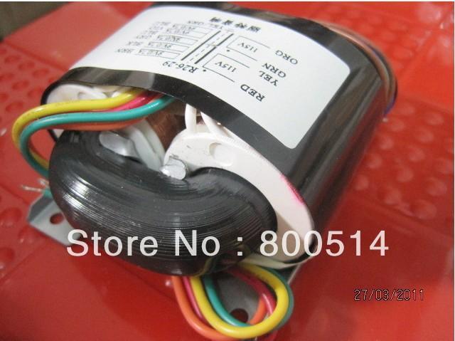 LITE R26-16 40VA 115V/230V R-core Audio Power transformer 0-28X2(0.45A), 0-35X2(60mA)(12-0-12)x2(60mA)(China (Mainland))