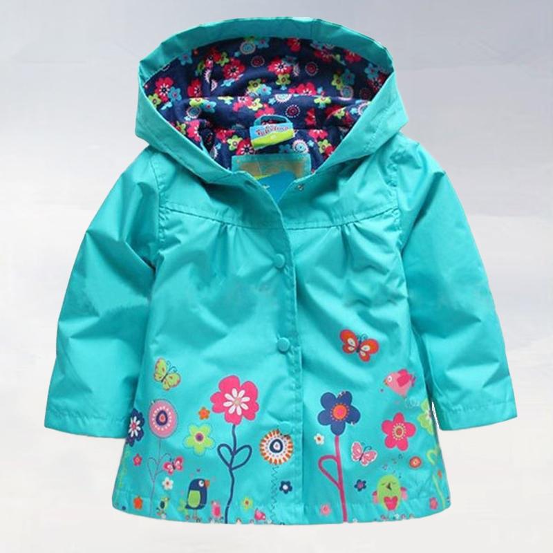 2015 new girls raincoat, children hooded jacket, girls Hello Kitty cotton-padded clothes, Girls recreational coat.(China (Mainland))